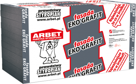 Arbet Styropian FASADA EKO GRAFIT 0,033 9cm