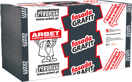Arbet Styropian FASADA GRAFIT 0,031 10cm