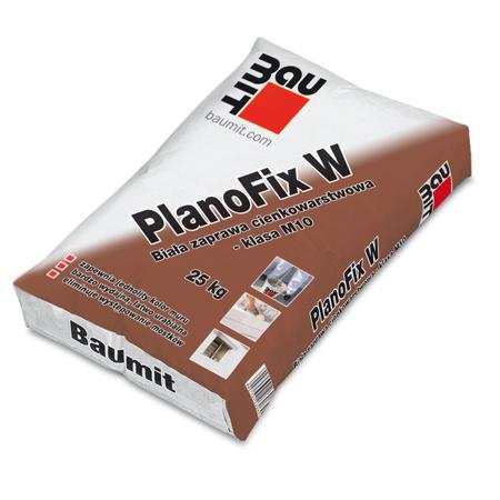 Baumit PlanoFix W Zaprawa cienkowarstwowa biała