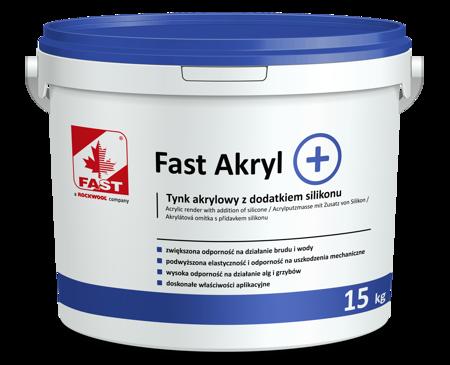 FAST AKRYL + akrylowa masa tynkarska 15kg