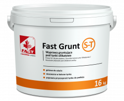 FAST GRUNT S-T grunt pod tynki silikatowe 6,4kg