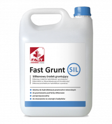 FAST GRUNT SIL silikonowy środek do gruntowania 5L