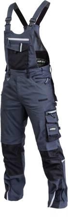 PowerMAX Spodnie ogrodniczki PROFESIONAL FLEX LINE