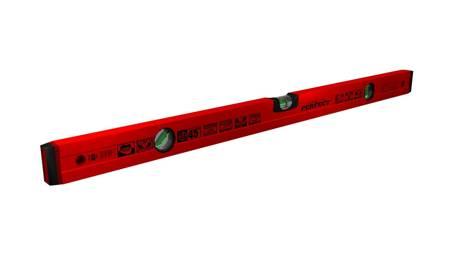 Stalco Poziomica aluminiowa czerwona 45° PRO