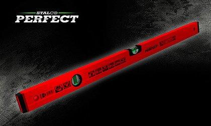 Stalco Poziomnica aluminiowa czerwona 30 cm