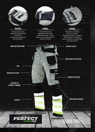 Stalco Spodnie robocze Dura Twill