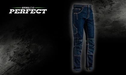 Stalco Spodnie robocze jeans Jean