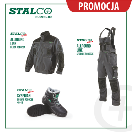 Zestaw Ubrań roboczych jesień zima Stalco Allround line